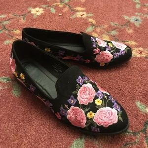 ASOS MUSICAL Embroidered Flat Shoes